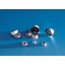 Aluminium-Bördelkappen für Rollrandflaschen