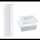 ratiolab® Makro-Küvetten, lösemittelbeständig, 4,0 ml, Fenster 2, Styropormagazin 1 x 100 Stk.