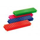 Aufbewahrungsgestell aus PP, 1,5 -2,0 ml, Stellplätze 5 x 16, verschiedene Farben