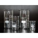 Becher Boro 3.3, hF, mit Teilung und Ausguss, 250 ml - 10 Stck.