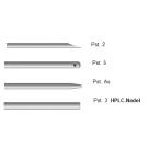 Ersatznadeln für gasdichte Spritzen mit auswechselbarer Nadel