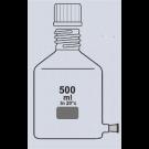 Abklärflasche, klar, Hals GL 45