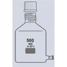 Abklärflasche, braun, Hals GL 45