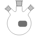 3-Hals-Kolben, MH. NS 29/32, 2 x SH. NS 18,8/26, 250 ml