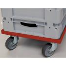 Transportwagen mit Rollen aus PP/TPD